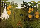 Henri Rousseau Lion's Repast 1907