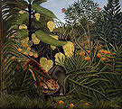 Henri Rousseau Fight Between a Tiger and a Buffalo 1908