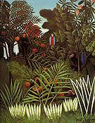 Henri Rousseau Exotic Landscape 1908