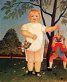 Henri Rousseau An Exemplum to Fete Baby 1903