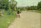 William Merritt Chase A City Park 1887