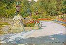 William Merritt Chase Prospect Park 1886