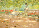 William Merritt Chase Terrace Prospect Park 1886