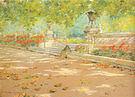 William Merritt Chase Terrace Prospect Park 1886