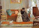 William Merritt Chase I Am Going to See Grandma 1889