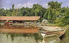 William Merritt Chase Boat House Prospect Park 1888