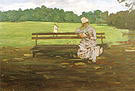 William Merritt Chase Prospect Park Brooklyn 1886