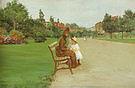 William Merritt Chase The Park 1887