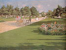 William Merritt Chase Tompkins Park Brooklyn 1887