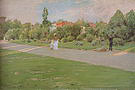 William Merritt Chase Park in Brooklyn (formerly known as Prospect Park) 1887