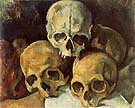 Paul Cezanne Pyramid of Skulls