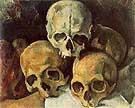 Paul Cezanne Pyramid of Skulls
