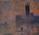 Claude Monet Houses of Parliament Effect Fog 1903