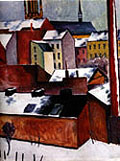 August Macke St Mary's in the Snow