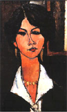 Amedeo Modigliani Almaisa The Algerian Woman