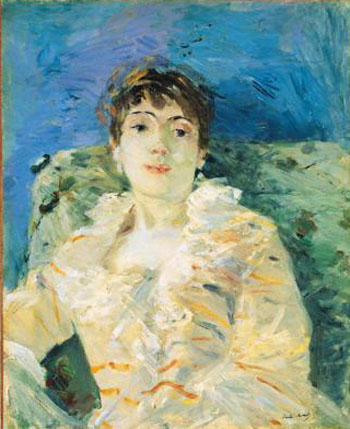 Berthe Morisot Girl on a Divan