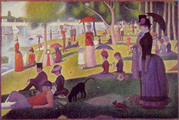 Georges Seurat A Sunday on La Grande Jatte 1884