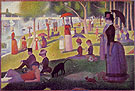 Georges Seurat A Sunday on La Grande Jatte 1884
