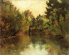 Gustav Klimt Secluded Pond 1881
