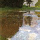 Gustav Klimt A Morning by the Pond 1899