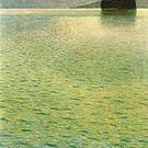 Gustav Klimt Island in the Attersee 1902