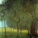 Gustav Klimt Fruit Trees 1901