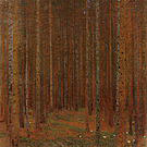 Gustav Klimt Pine Forest I 1901