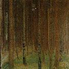 Gustav Klimt Pine Forest II 1901