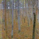 Gustav Klimt Beech Forest I 1902
