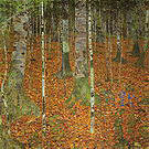 Gustav Klimt Birch Forest 1903