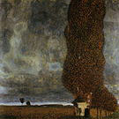 Gustav Klimt Tall Poplars II (Approaching Thunderstrom) 1902
