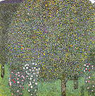 Gustav Klimt Roses Under Trees 1905