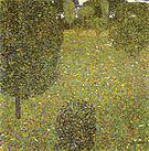Gustav Klimt Garden Landscape (Blooming Meadow) 1905