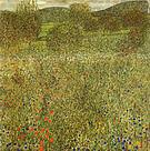 Gustav Klimt Garden Landscape 1907