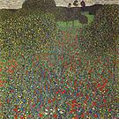 Gustav Klimt Poppy Field 1907