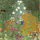 Gustav Klimt Farm Garden 1905
