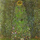 Gustav Klimt The Sunflower 1907