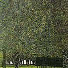Gustav Klimt Park 1909