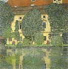 Gustav Klimt Schloss Kammer on the Attersee III 1910