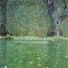 Gustav Klimt Pond at Schloss Kammer on the Attersee 1909