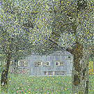 Gustav Klimt Farmhouse in Upper Austria 1911