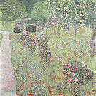 Gustav Klimt Orchard with Roses 1912