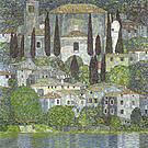 Gustav Klimt Church in Cassone 1913
