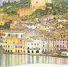 Gustav Klimt Malcesine on Lake Garda 1913