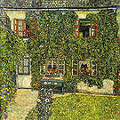 Gustav Klimt Foresters House in Weissenbach on the Attersee 1914