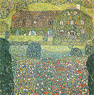 Gustav Klimt Villa on the Attersee 1914