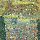 Gustav Klimt Villa on the Attersee 1914