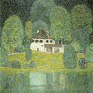 Gustav Klimt The Litzlbergkeller on the Attersee 1915