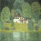 Gustav Klimt The Litzlbergkeller on the Attersee 1915