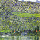 Gustav Klimt Unterach on the Attersee 1914